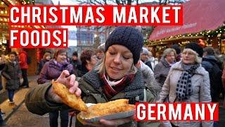 Video FOODS TO EAT AT A GERMAN CHRISTMAS MARKET! MP3, 3GP, MP4, WEBM, AVI, FLV November 2018