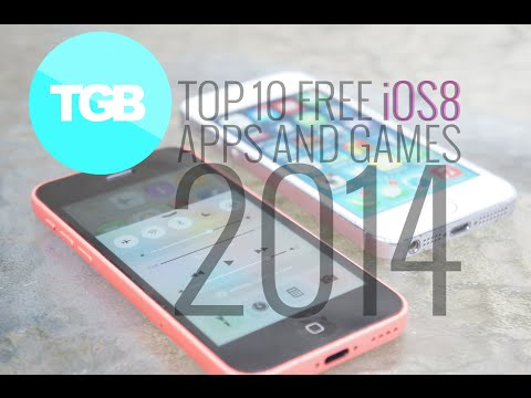 Top 10 iOS8 FREE Applications and Games for iPhone/iPod/iPad 2014