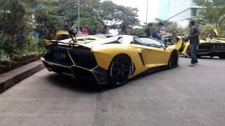 Video Lamborghini Club Indonesia Morning Run 15-01-2017 (Startup, Rev Battle, Backfire, and Acceleration) MP3, 3GP, MP4, WEBM, AVI, FLV Februari 2018