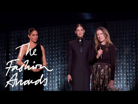 Clare Waight Keller for Givenchy | British Designer of the Year Womenswear Award