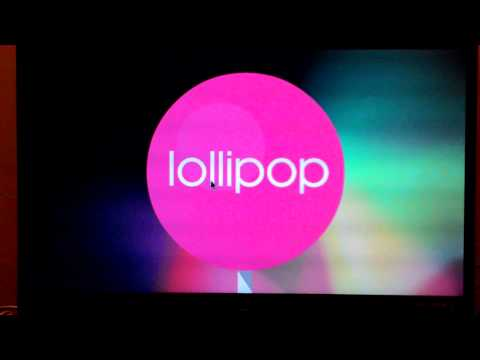 Android Lollipop 5 on Raspberry Pi 2