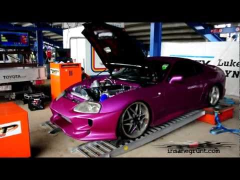 David McLeish's Toyota 2jz Supra