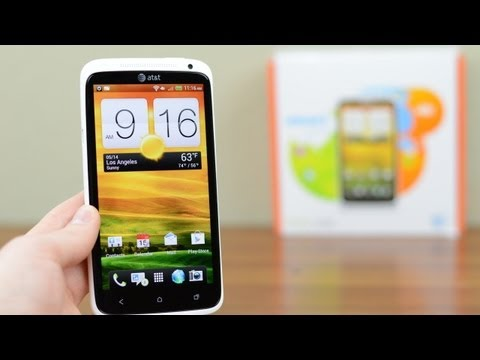 Unboxing: HTC One X for AT&T