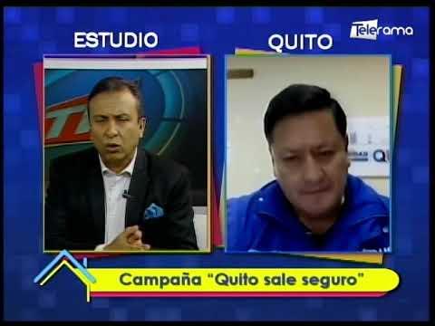 Campaña Quito sale seguro