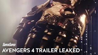 Avengers 4 Leaked Trailer Description | Fan Theory Friday