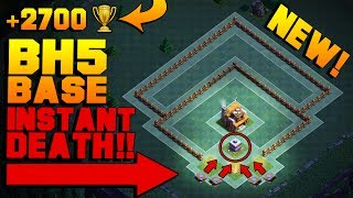 Clash of Clans Builder Base / New BH5 Base [Anti 2 Star, Anti Giant Builder Hall 5 Base]. Base done after CoC Versus Battle Update with New Troops and Buildings like Crusher, Multi Mortar, Push Trap, Cannon Cart, Double Cannon, Bomber, Old Barbarian Statue, Battle Machine aka New Hero, Gem Mine, Clock Tower etc. Stay tuned for more Clash of Clans animation / defense strategy / base designs / layouts / speed builds / noob trolling bases / defensive replays! :) Can we hit 1000 likes? :3▽ FASTEST WAY TO EARN FREE GEMS: http://cashforap.ps/jaso▽ Instagram: https://www.instagram.com/clashjaso▽ Twitter: https://twitter.com/Clash_Jaso▽ Subscriber count: 149,816----------------------------------------­­---------------------------------------­-­---MY OTHER VIDEOS:CLASH OF CLANS BUILDER BASE BH2 (COC BUILDER BASE)https://www.youtube.com/watch?v=Y5CxJRMlS30&tCLASH OF CLANS BUILDER BASE BH3 (BUILDER HALL 3 BASE)https://www.youtube.com/watch?v=hQHfDlg7P2s&tCLASH OF CLANS BH4 ANTI 1 STAR (COC UPDATE)https://www.youtube.com/watch?v=MkorBcgmMl0&tCLASH OF CLANS BUILDER BASE BH4 (BUILDER HALL 4 BASE)https://www.youtube.com/watch?v=dv-ZemdMRroCLASH OF CLANS BH5 BASE (BUILDER HALL 5 BASE 2017)https://www.youtube.com/watch?v=-yhSbRCcHmI&t----------------------------------------­­---------------------------------------­-­---Songs used: 1) K-391 - Dream Of Something Sweet ft. Cory Friesenhan [NCS Release]2) K.Safo & Alex Skrindo - Future Vibes feat. Stewart Wallace (Uplink Remix) [NCS Release]3) SKYL1NK - The Wizard [NCS Release]Provided by NCS https://www.youtube.com/user/NoCopyrightSoundsK-391• http://www.facebook.com/TheK391• http://www.soundcloud.com/k-391• http://twitter.com/K391• http://www.youtube.com/thek391• http://keosni391.newgrounds.com/audioCory Friesenhan• https://www.facebook.com/pages/Cory-Friesenhan-Music/8123149317• http://www.beatport.com/artist/cory-friesenhan/334720• https://myspace.com/coryfriesenhanUplink• https://soundcloud.com/itsuplink• https://www.facebook.com/itsuplink?_rdr=p• https://twitter.com/itsuplinkAlex Skrindo• https://soundcloud.com/alex-skrindo• https://www.facebook.com/AlexanderSkrindo• https://twitter.com/AlexSkrindoK.Safo• https://soundcloud.com/safobeats• https://www.facebook.com/officialksafo• https://www.instagram.com/kobiericsafoSKYL1NK• https://soundcloud.com/skyl1nk• https://www.facebook.com/Skyl1nk• https://www.youtube.com/c/TheOfficialSkyl1nk----------------------------------------­­---------------------------------------­-­---SUBSCRIBE TO MY CHANNEL IF YOU ENJOYED THE VIDEO: https://www.youtube.com/c/Jaso505Cheers!