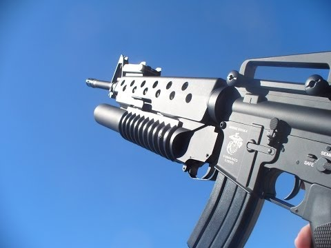 Specna Arms SA G02-M16A3 W/ M203-Airsoft Review