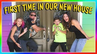"""We all get to see our new home at the same time! None of us have ever been in it yet so you will see everyone pick out their own rooms. We are excited to give you the empty house tour! Subscribe https://www.youtube.com/c/wearethedavises?sub_confirmation=1Our mailing address:We Are The Davises28241 Crown Valley Pkwy Suite F #613Laguna Niguel, CA 92677""""We Are The Davises"""" is an entertaining family vlog channel based in Florida. Our daily videos show our real life moments, challenges, funny skits, and traveling adventures. Shawn is an outstanding father and husband that enjoys coaching children in team sports like football and wrestling. Connie is very creative with our channel as she makes everything in our lives as fun and entertaining as possible while still molding our kids into the amazing people they are today. Kayla is currently 12 years old. Her passion is competitive cheer leading and loves all animals from fluffy puppies to the little frogs. Tyler is 11 years old and is obsessed with playing video games and team sports such as football. We are excited to share our fun filled journey!Check out our gaming channel We Are The Davises Gaming if you love gaming videos.https://www.youtube.com/channel/UCShsPtvK0WzxjljpN4rhVzgPlease be sure to check out all of our social media platforms that we have listed below for you.Twitter:  https://twitter.com/wearethedavisesFacebook:  https://www.facebook.com/wearethedavises/Instagram: https://www.instagram.com/wearethedavises/Google+: https://plus.google.com/u/0/+WeAreTheDavises2016/postsSnapchat:  https://www.snapchat.com/add/wearethedavisesMusical.ly:  wearethedavisesDo you like certain types of videos? Come and check out the playlists that we have setup to make it easier for you to watch what you like.Here is a playlist of all our daily videos. https://www.youtube.com/playlist?list=PL1SgveIsSpIqtjNq-QnGHSHxv410nkJfyThis playlist was put together specifically for all you Kayla fans.https://www.youtube.com/playlist?list=PL1Sg"""