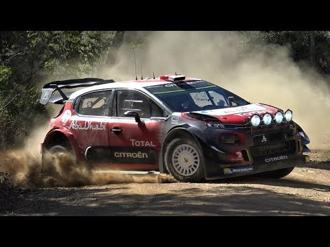 Test Sébastien Loeb | Citroën C3 WRC 2017 on gravel by Jaume Soler