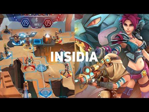 Пошаговая MOBA! Insidia. Первый взгляд