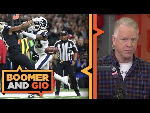 Video: Did the refs GIVE the game to the Rams? | Boomer and Gio