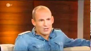 "Arjen Robben bei Thomas Gottschalks ""Wetten dass…"""