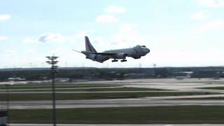 Boeing testuje nowy system lądowania we Frankfurcie!