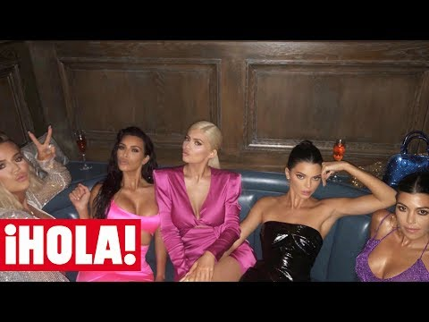El fiestón de cumpleaños de KYLIE JENNER con el clan Kardashian al completo