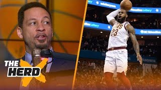Chris Broussard on Cavs over Raptors, Harden vs LeBron, 76ers and more | THE HERD