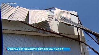 Moradores de Paraguaçu Paulista contabilizam estragos causados pela chuva