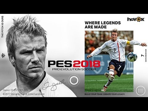 PES 2018 Pro Evolution Soccer Android | PES 2018 ANDROID DOWNLOAD