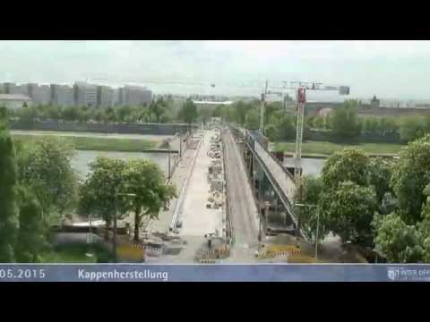 Dresden: Ausbau der Albertbrücke in Dresden