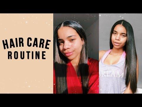 Hair salon - my hair routine + japanese hair straightening info