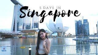 Video Singapore | 5-Days Travel Diary 2017 || by @mariethuy MP3, 3GP, MP4, WEBM, AVI, FLV September 2018