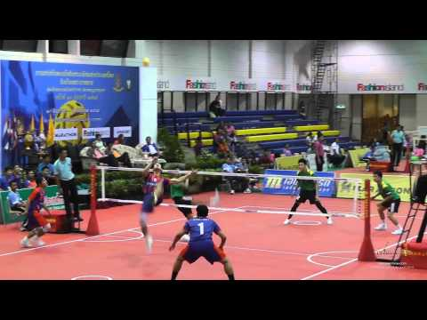 Sepak Takraw Prince Cup 2014 – Port Authority of Thailand vs. Army Soliders