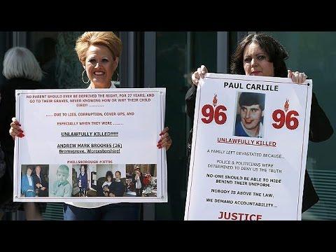 «Να παρθούν κεφάλια» και ποινικές ευθύνες ζητούν οι οικογένειες των θυμάτων του Χίλσμπορο