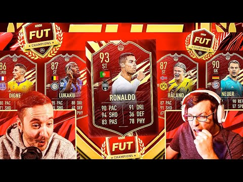 RED RONALDO FUT CHAMPIONS DAY?!?! - FIFA 21 ULTIMATE TEAM PACK OPENING