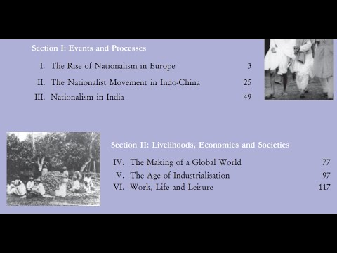 Chapter 1(PART-3)    Class 10 NCERT History ( India and the Contemporary World - II )    Read w Me