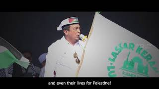 Video Millions People Join the Biggest Rally for Palestine in Jakarta | KH. Bachtiar Nasir MP3, 3GP, MP4, WEBM, AVI, FLV Agustus 2018