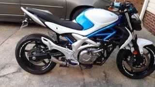 1. 2009 Suzuki Gladius 650