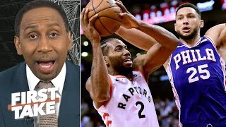 The Raptors need to stop the 76ers' momentum in Game 3 – Stephen A. | First Take