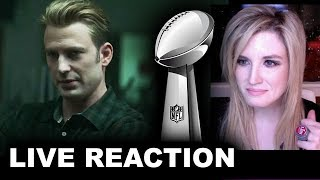 Avengers Endgame Super Bowl TV Spot REACTION