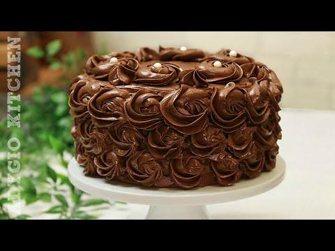 Tort de ciocolata reteta perfecta / Tort de ciocolata festiv - Adygio Kitchen