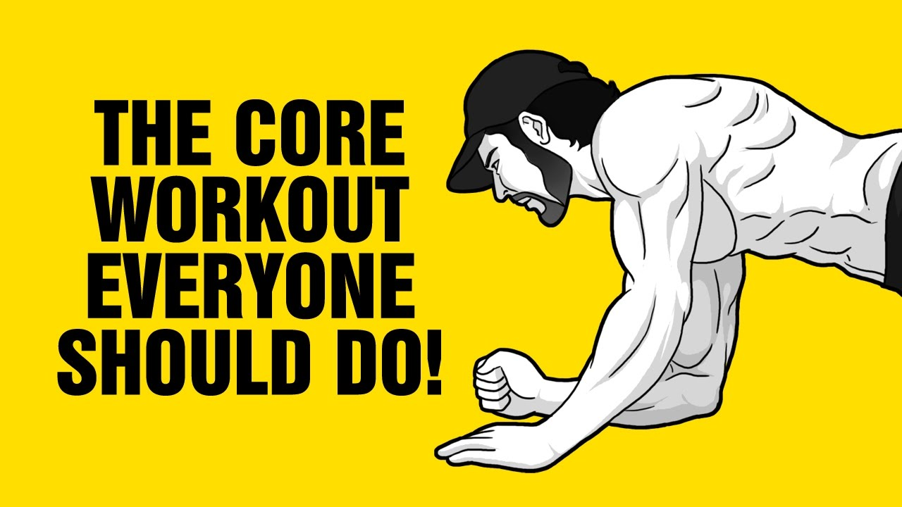 The CORE Workout Everyone Should Do Once Per Week – 4 Best Core Exercises
