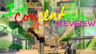 FIRST TIME Concentrate Review: Cinex Wax by Green Junky Farms by Take a Break with Aaron & Mo