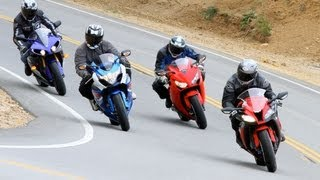 6. 2012 Japanese Superbike Shootout - Road Test