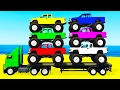 Learn Colors W Monster Truck Amp Learn Numbers For Kids W Cars Cartoon Learning Video