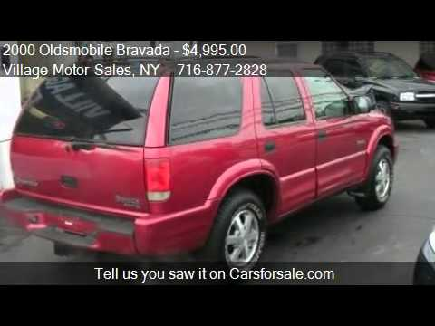 2000 Oldsmobile Bravada AWD – for sale in Buffalo, NY 14218