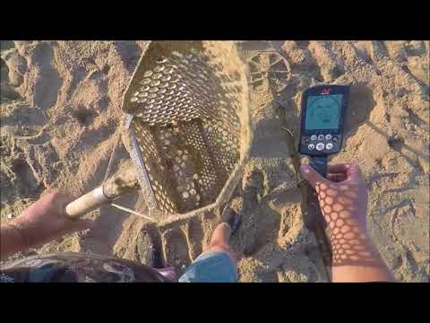 Beach Metal Detecting California 7/6/18