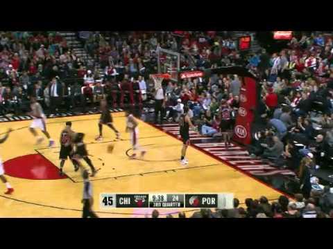 Chicago Bulls 94 – Portland Trail Blazers 102