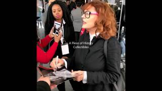 Here's a great video of Susan Surandon Signing Autographs for us! Check out these exact items and other Awesome Authentic Autographs from your favorite Celebs at WWW.PIECEOFHISTORYCOLLECTIBLES.COM.