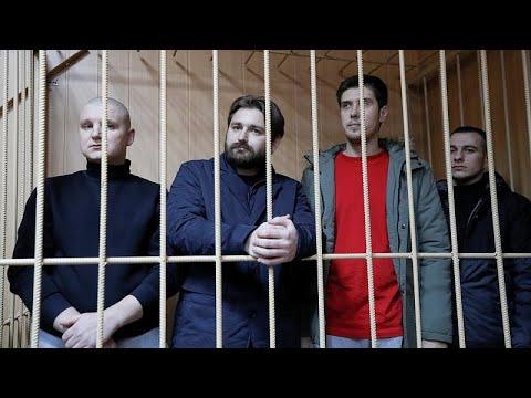 Παρατείνεται η προφυλάκιση των οκτώ Ουκρανών ναυτικών