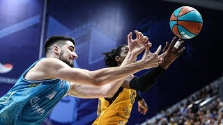 Матчтың үздік сәттері— ВТББірыңғай лигасы: «Химки» vs «Астана»