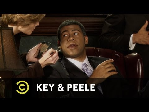 Key & Peele - Obama's Makeup Job - Uncensored