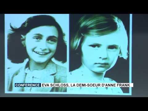 Conférence : Eva Schloss, la demi-sœur d'Anne Frank