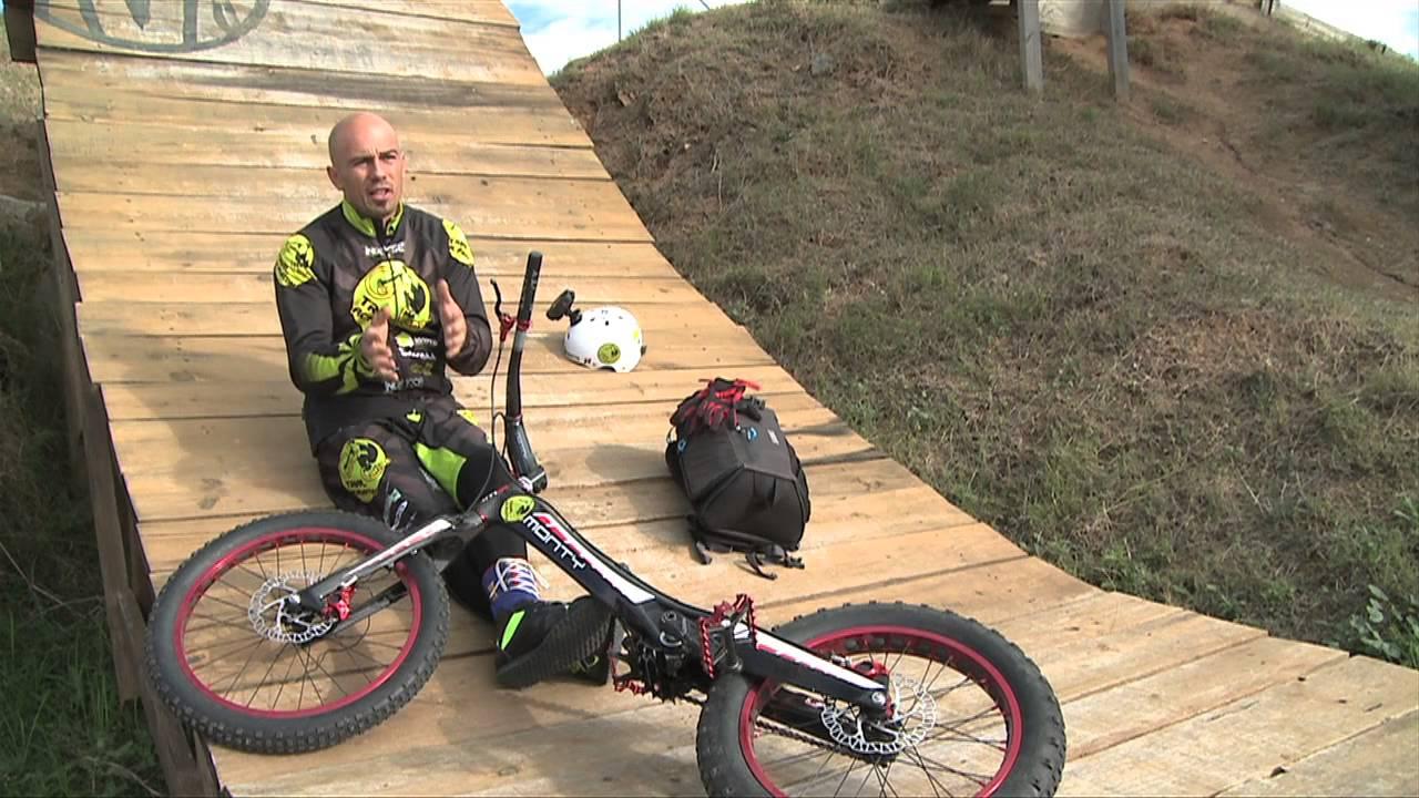 Bike trial con César Cañas