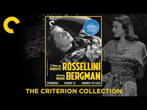 3 Films By Roberto Rossellini Starring Ingrid Bergman | The Criterion Collection Blu-ray Digipack