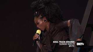 """Brandy Performs """"Talk About Our Love""""  At The Soul Train Awards 2016"""