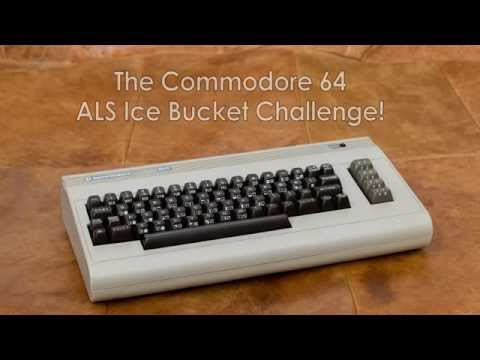 The Commodore 64 ALS Ice Bucket Challenge!