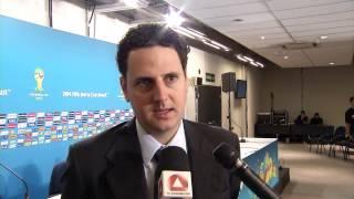 VÍDEO: Confira entrevista com o secretário Tiago Lacerda sobre o balanço da primeira fase da Copa